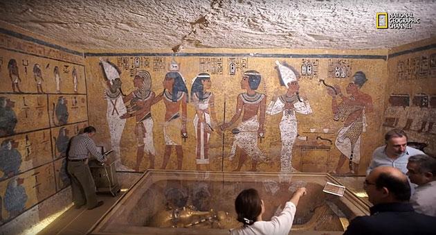 Radar Liefert Beweise F R Weitere Kammern Im Tutanchamun Grab