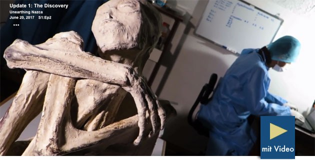 """UPDATE: """"Weiße Mumie von Nazca"""" sorgt weiterhin für Kontroversen und Betrugsvorwürfe"""