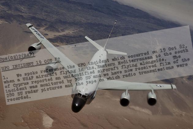 Britische UFO-Akten offenbaren 90-minütige UFO-Nahebegegnung eines US-Spionageflugzeugs