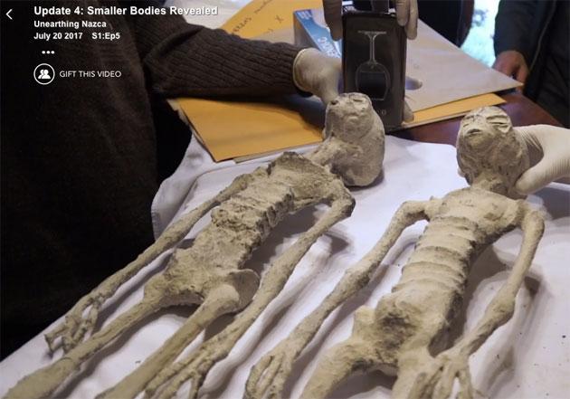 Update 4 zur Kontroverse um Nazca-Mumien : Gaia präsentiert weitere Körper