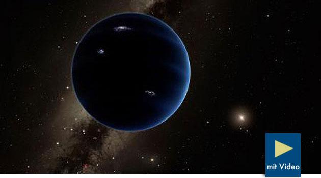 """Gezielte Suche nach """"Planet Nine"""" beginnt"""