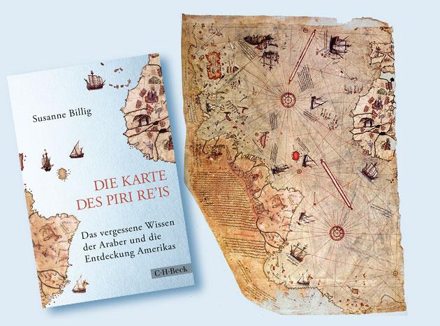 """Buchneuerscheinung: """"Die Karte des Piri Re'is – Das vergessene Wissen der Araber und die Entdeckung Amerikas"""""""