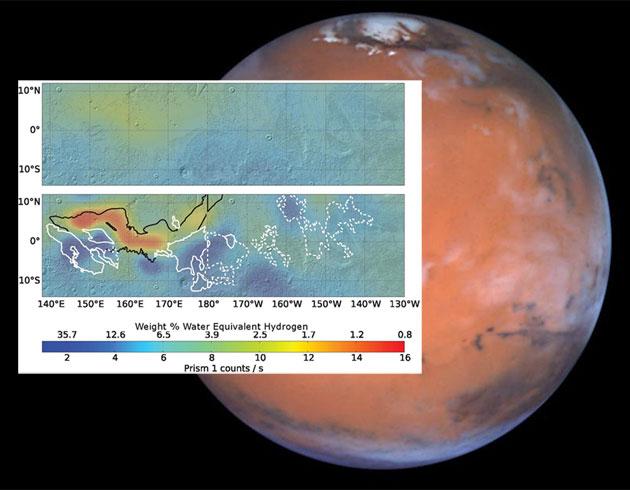 Überraschende Entdeckung auf dem Mars – Sondendaten belegen Eislager am Marsäquator