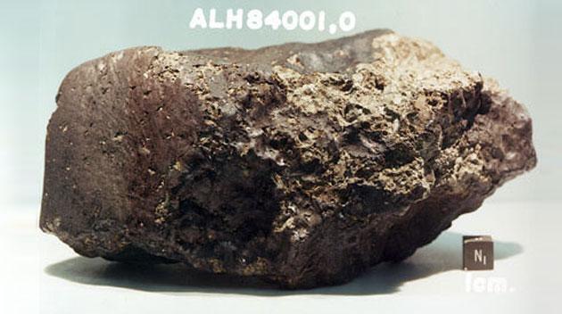 """Meteorit """"ALH 84001"""" belegt: Der Mars hatte vor 4 Mrd. Jahren eine dichte Atmosphäre"""