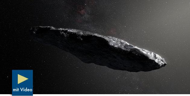 """ESO-Astronomen: Interstellarer Besucher ist """"mit nichts vergleichbar, was wir bisher kennen"""""""