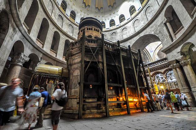 Grabstätte Jesu ist mindestens 1.700 Jahre alt