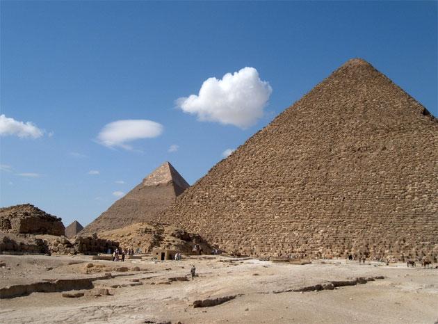 """Keine statische Funktion: Birgt der """"große Hohlraum"""" in der Cheopspyramide einen Thron aus Eisen?"""