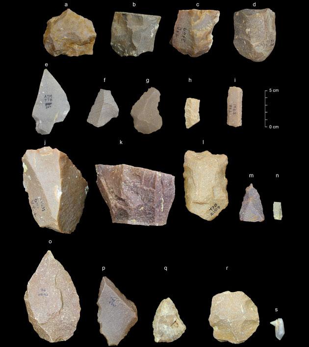 250.000 Jahre alte indische Steinwerkzeuge stellen frühe Menschheitsgeschichte in Frage