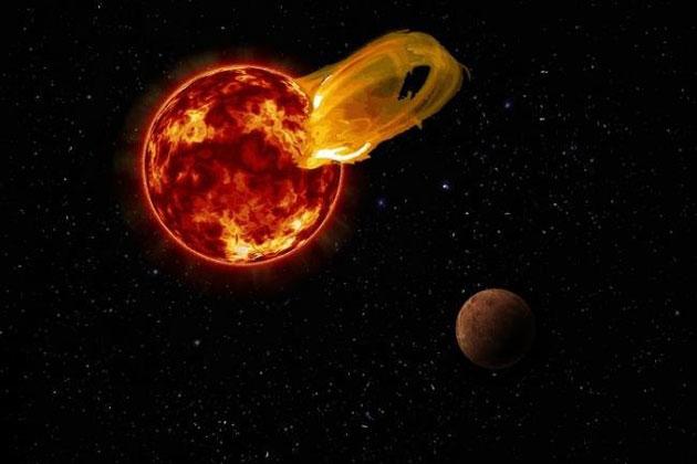 Sonnenausbruch von Proxima Centauri stellt Lebensfreundlichkeit unseres Nachbarsterns in Frage