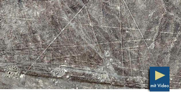 Unbekannte Geoglyphen zwischen Nazca und Palpa