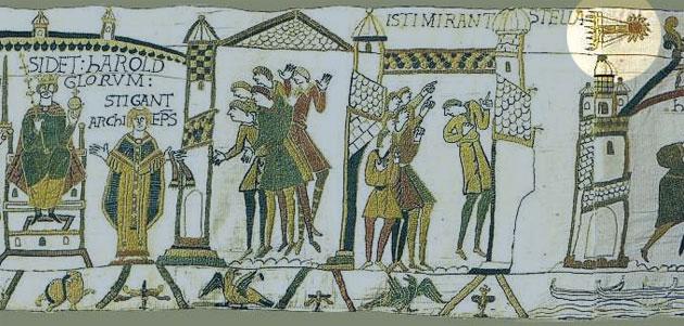 """Zeigt der Teppich von Bayeux Hinweise auf """"Planet Nine""""?"""