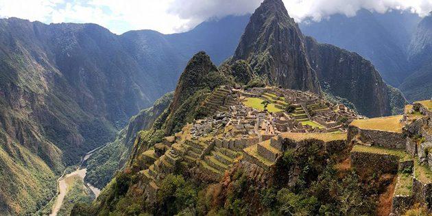 Die Ruinen der einstigen Inka-Stadt Machu Picchu. Copyright: Tim H. für grenzwissenschaft-aktuell.de