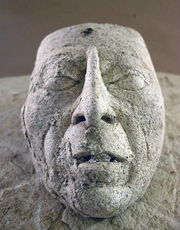 """Pakal: Archäologen finden Stuck-Kopf des Maya-""""Astronauten"""" in Palenque"""