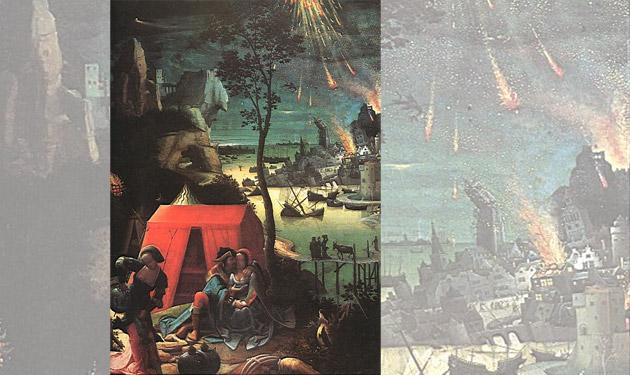 Hinweise für Meteor als Ursache für biblischen Mythos von Sodom und Gomorra