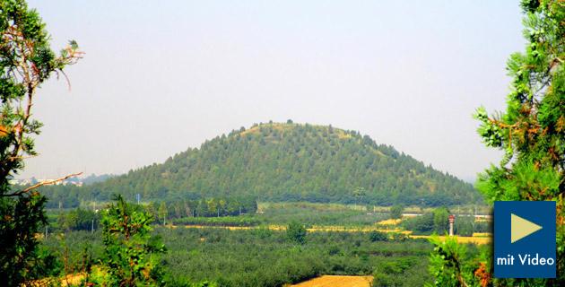Chinesische Pyramiden von Xianyang waren auf den Polarstern ausgerichtet