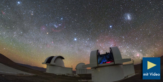 Teleskope öffnen das weltall