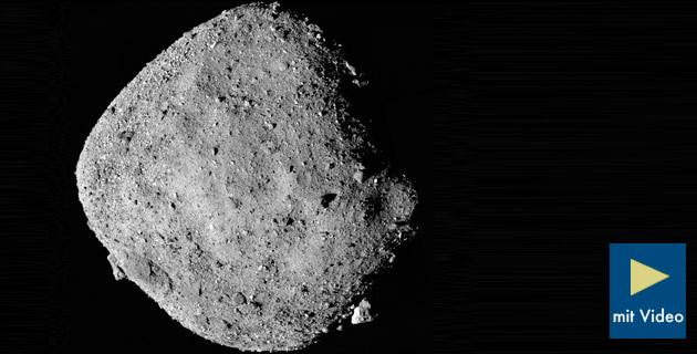 Sonde findet Wasser auf Asteroid Bennu