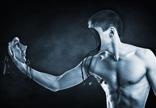 Symbolbild: Roboter mit Selbsterkenntnis (Illu.).
