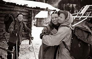Gruppenbild von vier der insgesamt neun Gruppenmitgliedern.