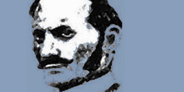 """Zeitgenössisches Porträt von Aaron Kosminski, einem der Hauptverdächtigen im Fall """"Jack the Ripper"""" (Illu.).Copyright: Gemeinfrei"""