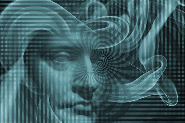 Symbolbild: Magnetsinn beim Menschen (Illu.).Copyright/Quelle: grewi.de (mit Materialien von Pixabay.com)