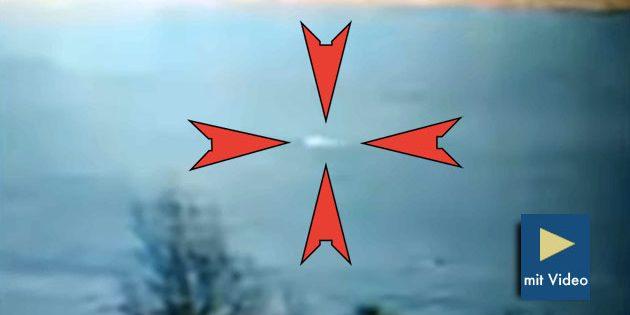 Standbild aus dem Loch-Ness-Webcam-Video vom 22. März 2019. Quelle/Copyright: lochness.co.uk / Eoin O'Faodhagain