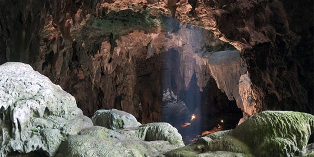 Blick in die Callao-Höhle auf der philippinischen Insel Luzon. Copyright: Callao Cave Archaeology Project