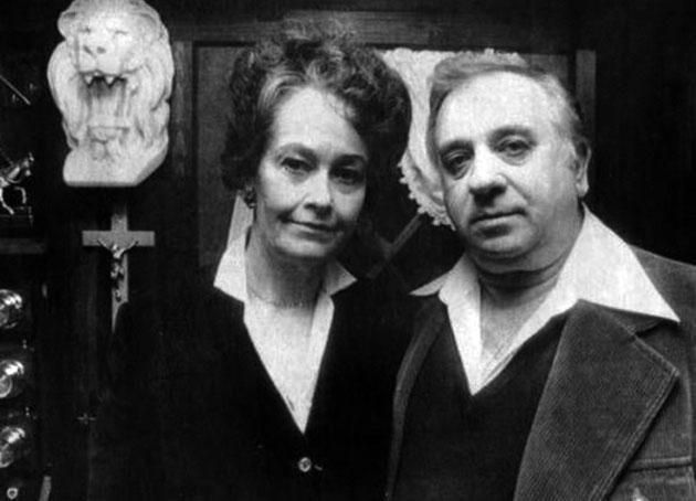 Archivbild: Lorraine und Ed Warren in den 1970er Jahren. Copyright: unbek.