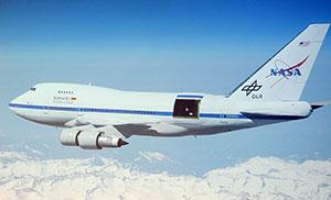 Das Stratosphären-Teleskop SOFIA. Copyright/Quelle: DLR