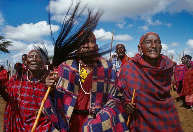 Mitglieder der Khoisan. Copyright: Paul Weinberg (via WikimediaCommons) / CC BY-SA 3.0