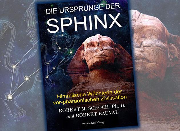 """Titelabbildung von """"Die Ursprünge der Sphinx"""" Copyright/Quelle: ancientmail.de"""