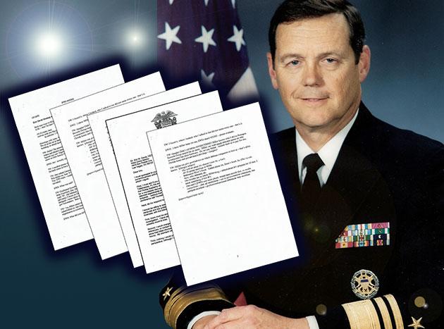 UFO-Leakes: Was weiß US-Vizeadmiral Wilson über geheime UFO-Forschungsprojekte der USA?