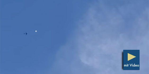 Standbild aus einem der zahlreichen Webvideos der Objekte, hier über der Region Kansas City. Copyright/Quelle: Clint Banning / Youtube