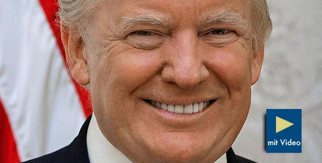 US-Präsident Donald Trump. Copyright: Gemeinfrei