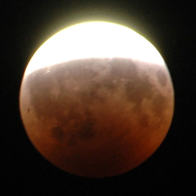 Archivbild: Partielle Mondfinsternis vom 16. August 2008. Copyright: Eporun (via WikiemediaCommons), CC-BY SA 3.0