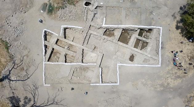 Luftbild der Ausgrabung. Copyright: Zachary Wong