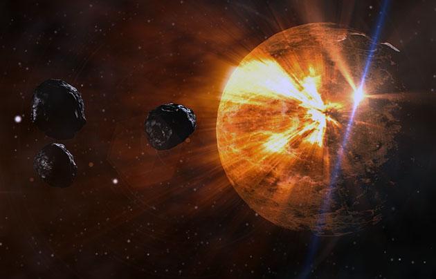 Neue Studie: Erst der Einschlag von Meteoriten ermögliche Leben auf der Erde