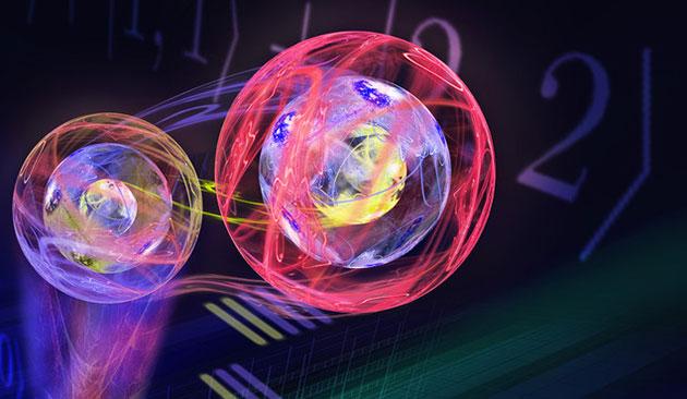 Gebeamte Qutrits: Erstmals dreidimensionale Quantenzustände teleportiert
