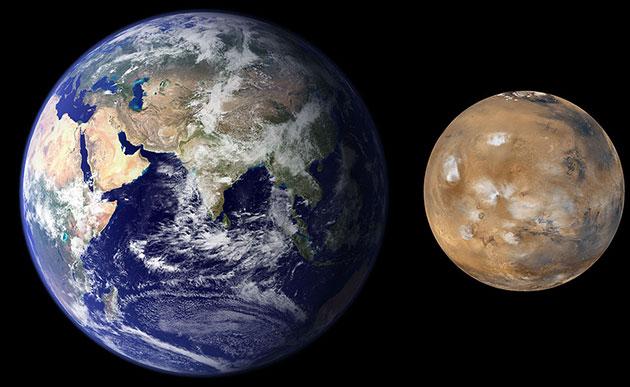 Studie bestätigt: Früher Mars war warm und feucht und kühlte dann ab
