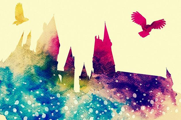 Symbolbild zur Harry-Potter-Romanwelt (Illu.) Copyright/Quelle: inspiredbythemuse (via Pixabay.com) / Pixabay License