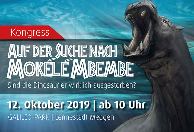 Das Plakat zur Ausstellung. Copyright: Galileo-Park
