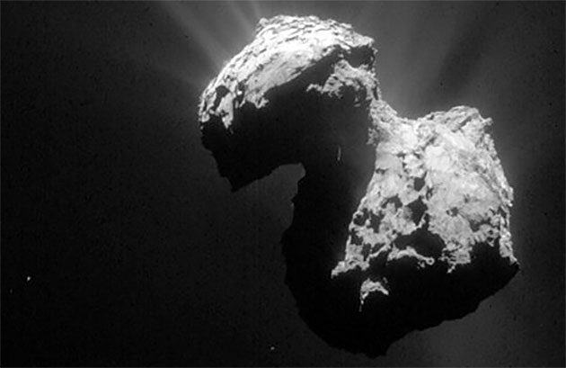 Stammen alle Kometen im Sonnensystem vom gleichen Ort?