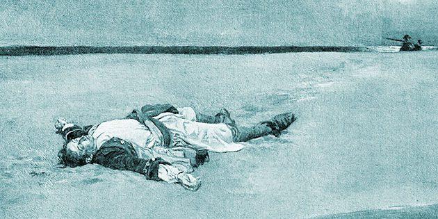 "Symbolbild: Abbildung aus ""Tom Chist and the Treasure Box"" , Howard Pyle (1921) Copyright: Gemeinfrei"