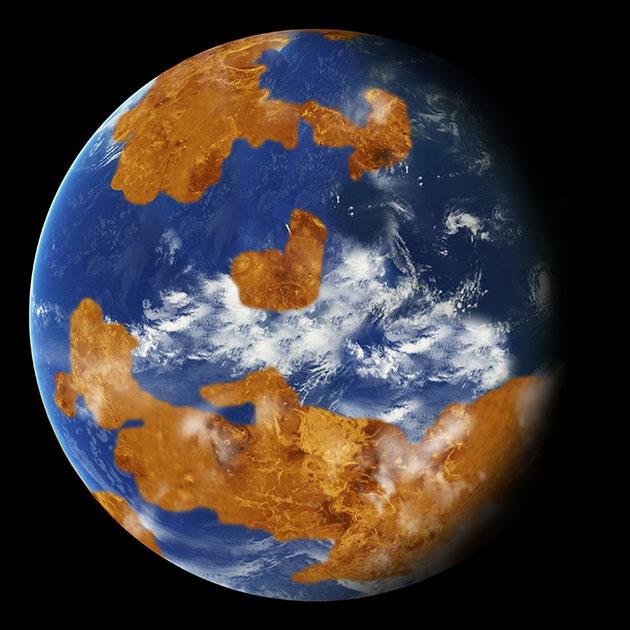 Neue Studie: Venus war Milliarden Jahre lang lebensfreundlich