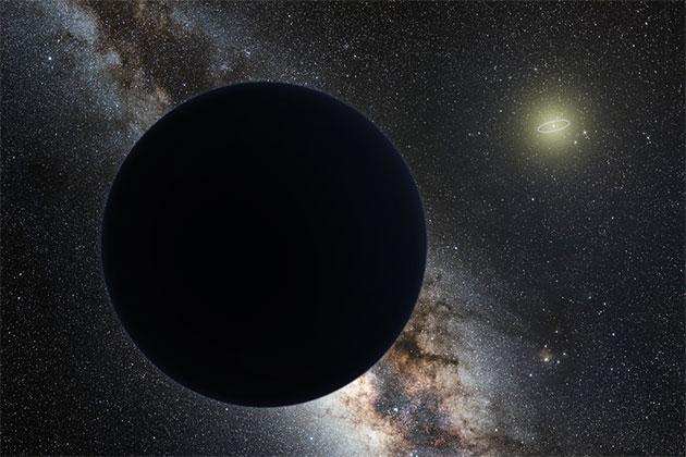 Künstlerische Darstellung von Planet Neun (Illu.) Copyright: nagualdesign/Tom Ruen/Eso (via WikimediaCommons) / CC BY-SA 4.0