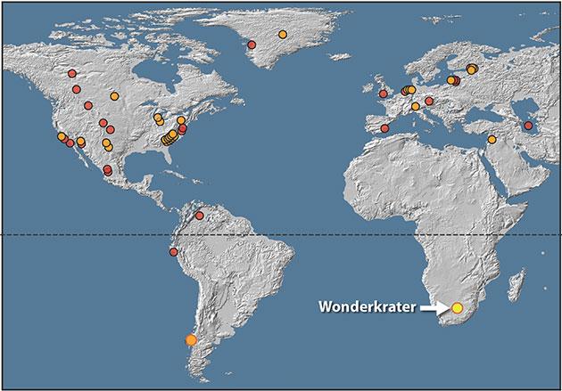 Jüngere Dryas: Geologen finden weitere Belege für Asteroideneinschlag mit globalen Folgen vor 12.800 Jahren