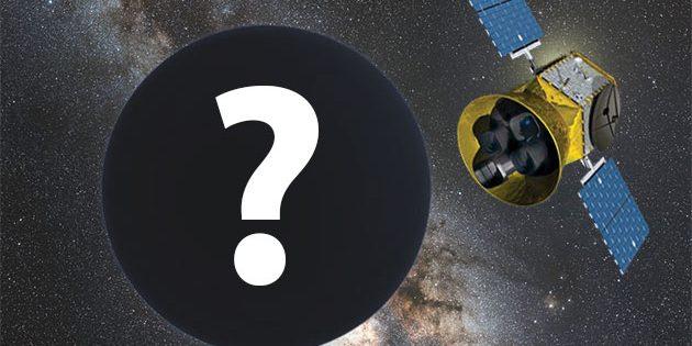 """Künstlerische Darstellung der Suche nach """"Planet Nine"""" in den Daten des TESS-Satelliten (Illu.). Copyright: NASA (TESS), nagualdesign/Tom Ruen/Eso (via WikimediaCommons) / CC BY-SA 4.0 (P9), (Komb. grewi.de)"""