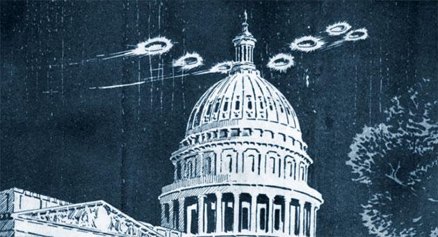 Blue Book: Kleine Ausstellung am US-Nationalarchiv erinnert an UFO-Untersuchungen der Air Force