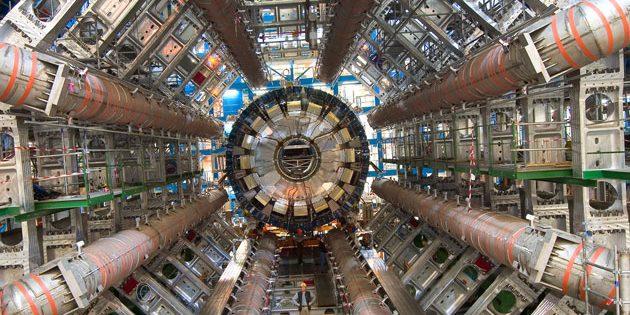 Symbolbild: Blick in den LHC-Teilchenbeschleuniger am Kernforschungszentrum CERN nahe Genf Copyright: CERN / cern.ch
