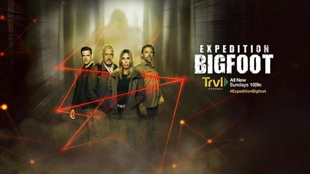 """Das Plakat zur TV-Dokureihe """"Expedition Bigfoot"""". Copyright: Travel Channel"""